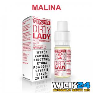 Liquid PINKY VAPE 10m DIRTY LADY - MALINA
