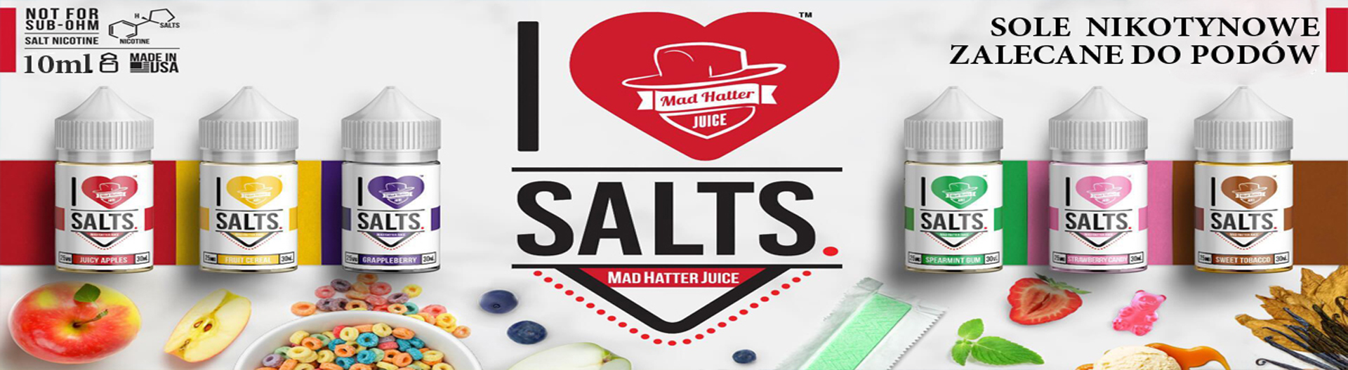 I love Salts Fruit Cereal 10ml 20mg